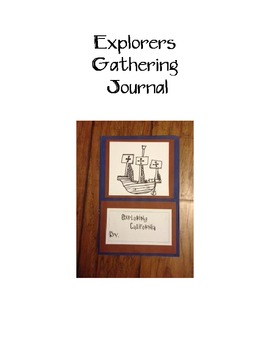 Explorers Gathering Journal