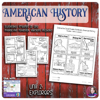 Explorers Illustrated Timelines - US History