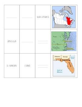 Explorers - Important Locations