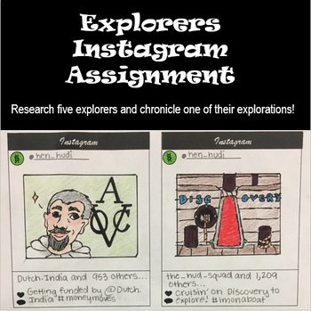 Explorers Instagram Assignment