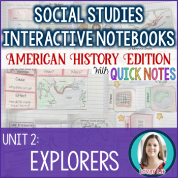 Explorers Interactive Notebook