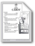 Explorers: John Cabot (Pocket 3)