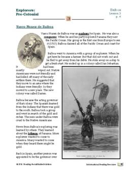 Explorers Lesson 3 - Balboa