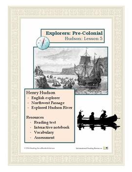 Explorers Lesson 5 - Hudson