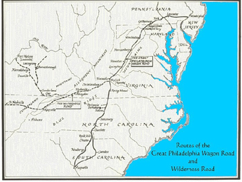 Explorers & Long hunters in Tennessee