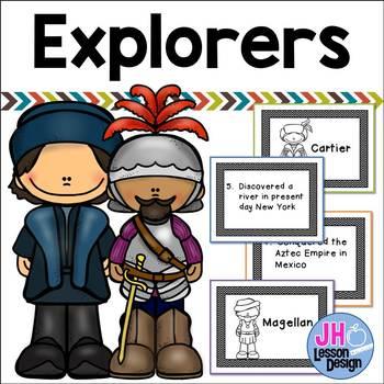Explorers Matching Activity