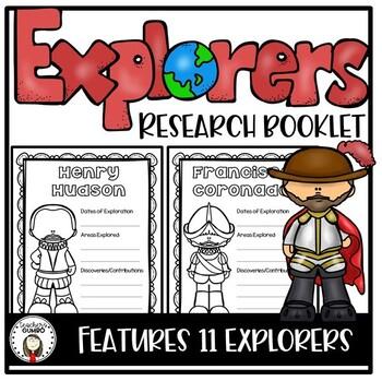 Explorers Mini-Book Activity
