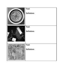 Explorers' Navigation Tools Activity