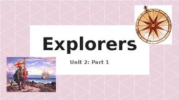 Explorers PowerPoint Presentation