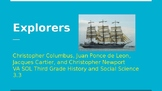 Explorers Powerpoint for VA History SOL 3.3