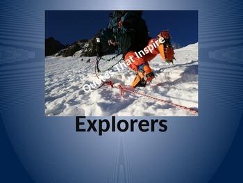 Explorers:  Quotes That Inspire