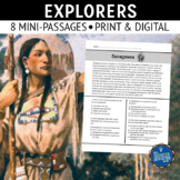 Explorers Reading Comprehension Passages