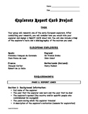 Explorers Report Card Project