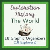 Explorers of the World Graphic Organizers