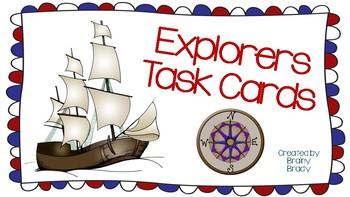Explorers Task Cards