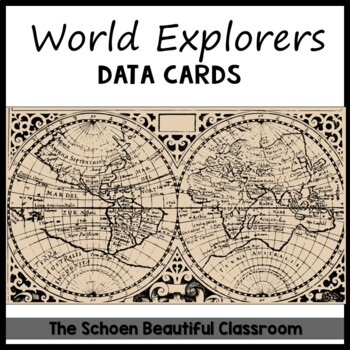 explorers timeline data cards by patricia schoen tpt. Black Bedroom Furniture Sets. Home Design Ideas