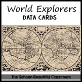Explorers Timeline/Data Cards
