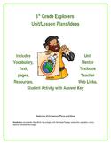 Explorers Unit / Lesson Plans