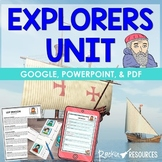 Explorers Unit | Early Explorers | Age of Exploration | Distance Learning