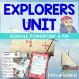 Explorers Unit filled with Informational Text, Foldable, Test
