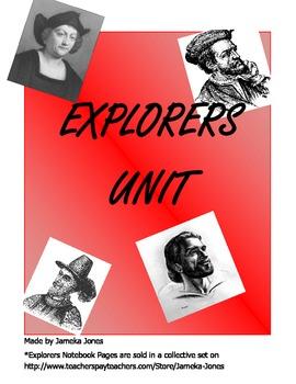 Explorers Unit Resources