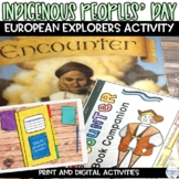 Explorers Christopher Columbus or Indigenous Peoples Day Picture Book Activity