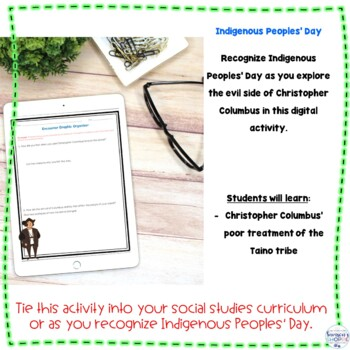Explorers | Christopher Columbus | Indigenous Peoples Day Activity