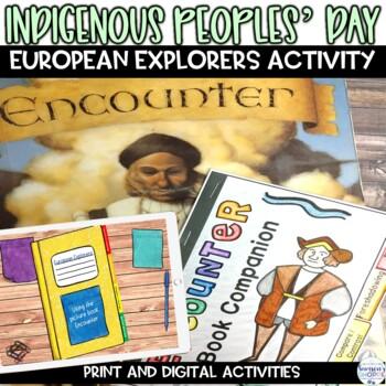 European Explorers Columbus Picture Book Activity