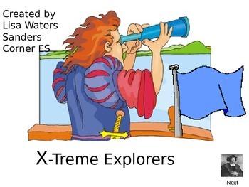 Explorers Who Am I Review Game