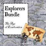 Explorers and Age of Exploration Bundle with distance lear