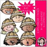 Explorers clip art - Faces - Mini - Melonheadz Clipart