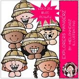 Explorers clip art - Hangerz - Mini - Melonheadz Clipart