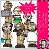 Explorers clip art - Mini - Melonheadz Clipart