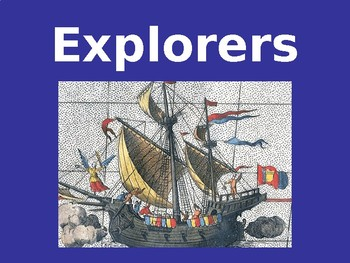Explorers from the Age of Exploration