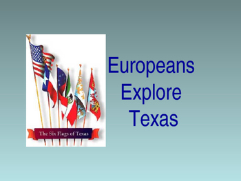 Explorers in Texas