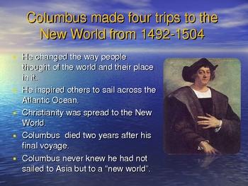 Explorers of North America Powerpoint