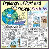 Explorers of Past and Present Puzzle Bundle - Great for Co