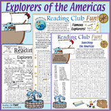 Explorers of the Americas Puzzle Pack – Crosswords, Word S