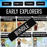 Early European Explorers #2: Magellan, Vespucci, Cortes, Champlain, Pizarro