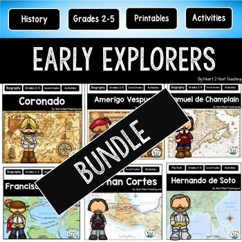 Explorers of the New World #2: Magellan, Vespucci, Cortes, Champlain, Pizarro