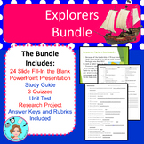 Explorers of the New World Bundle – Notes, Assessments, St