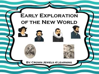 Explorers of the New World:  PPT Introduction & Graphic Or