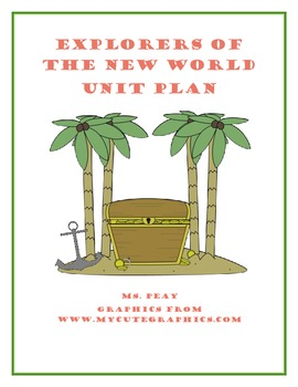 Explorers of the New World Unit Plan