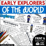 Explorers of the World Interactive Notebook and Mini Unit