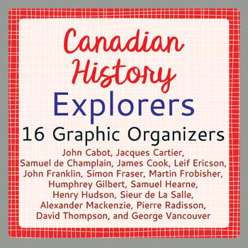 Exploration Canada Activities 16 Graphic Organizers