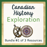 Exploration Canada BUNDLE #1 of 3 Resources