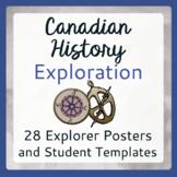 Exploration Canada 28 Posters 28 Student Templates Biograp