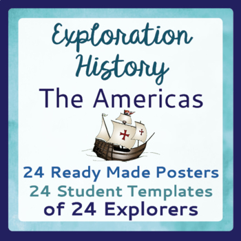 Explorers Exploration 24 Posters 24 Poster Templates