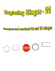 Exploring 2D Shapes - Graphic Organizer