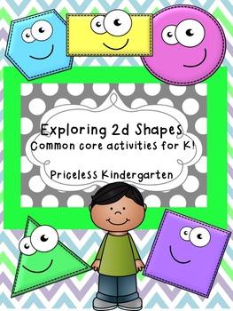 Exploring 2d Shapes